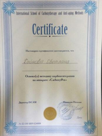sertifikaty hajnova 14 347x463 - Хайнова Светлана Владимировна