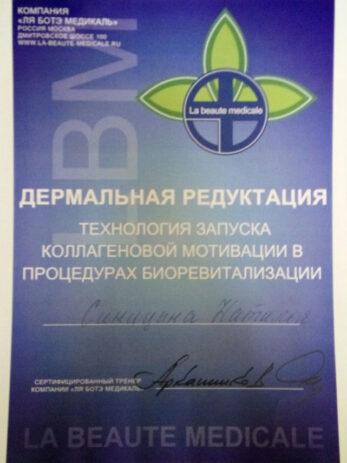 sertifikaty sinicyna 2  347x463 - Синицына Наталья Сергеевна