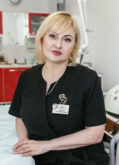 Кудрина Анна Алексеевна – Врач-косметолог